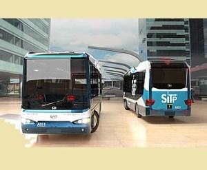 Cubiertas de buses del SITP