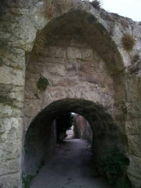 Arco de la Puente Llovía Priego de Córdoba