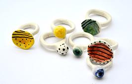 Anillos ceramica