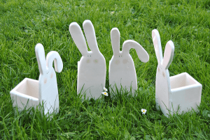 Maceteros conejo