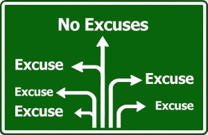 47 – Excuses we all use