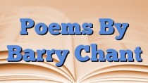 Poems By Barry Chant