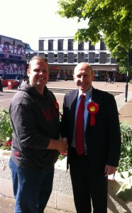 Barry and John Healey
