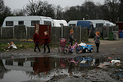 Dale Farm Traveller site GV