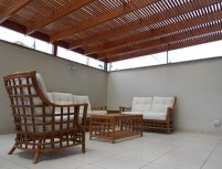 chairs in patio