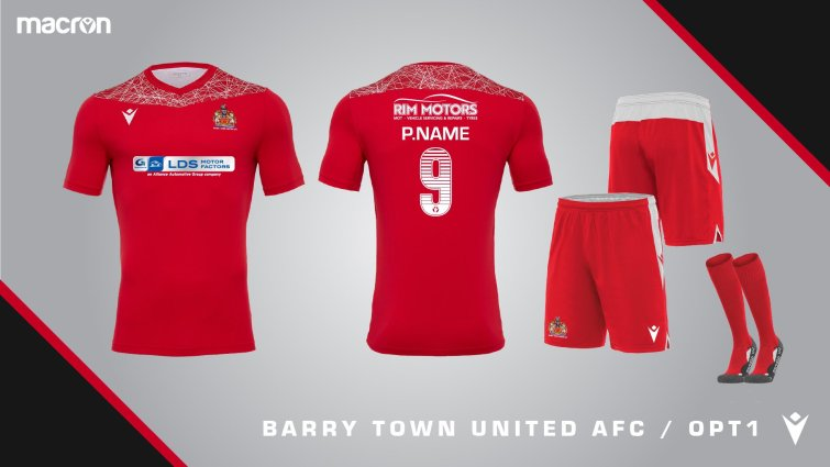 Red Y To Go Colour Of 2020 21 Away Kit Is Decided Barry Town United