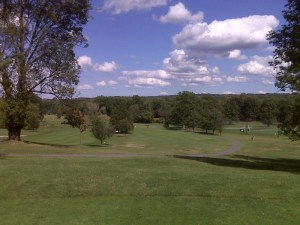 From the 1st Tee at the Knoll East Golf Course in Parsippany, NJ