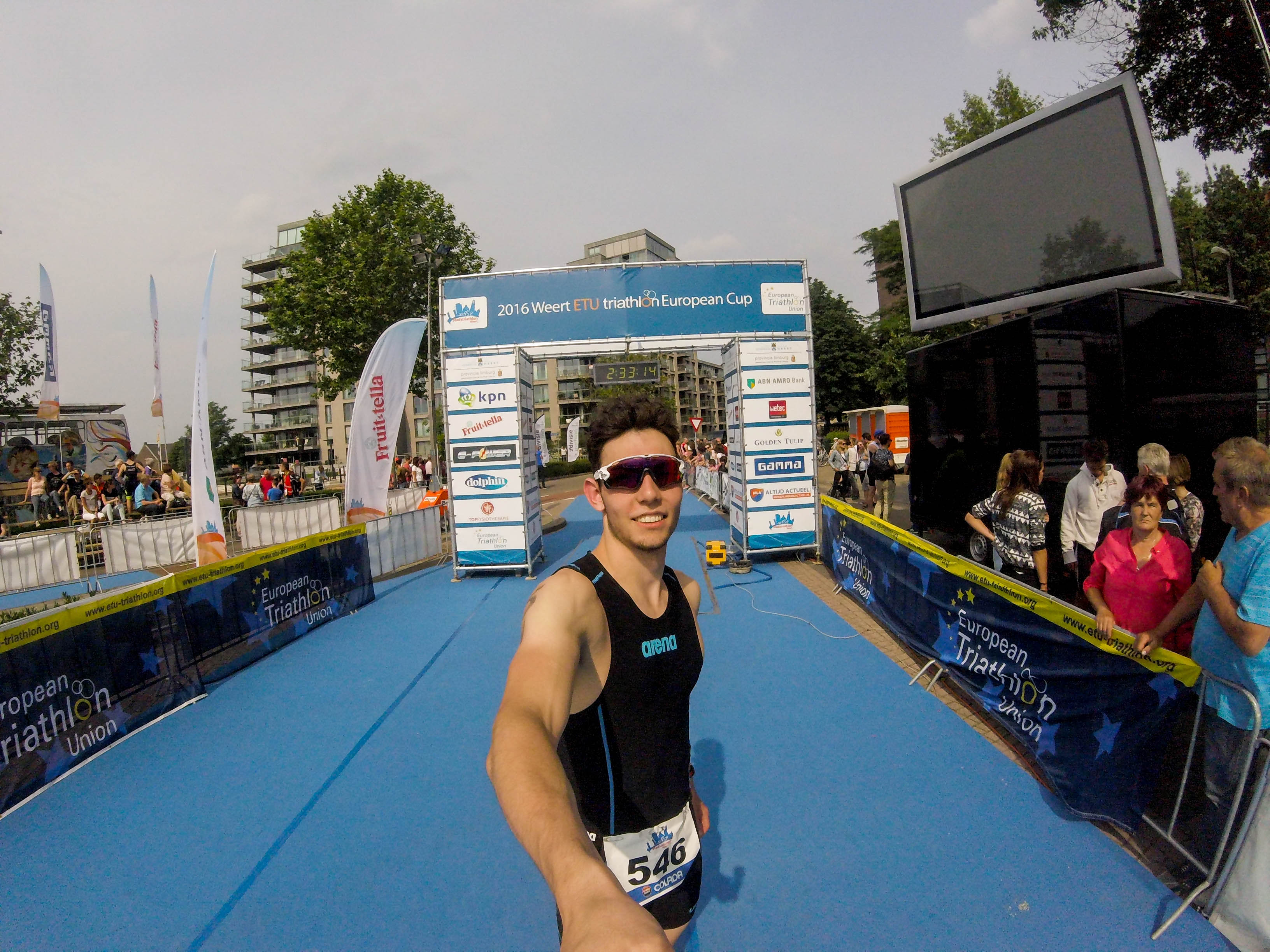 Triathlon Finisher