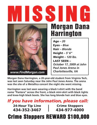 Missing Poster Template missing dana harrington jpg missing – Missing Poster Generator