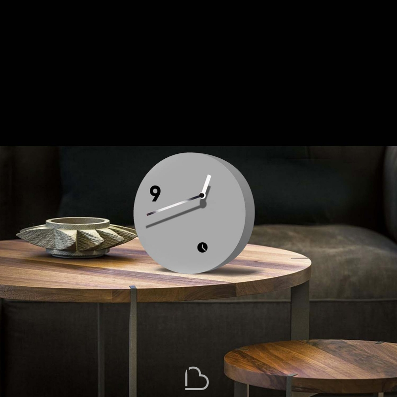 table clock tothora slice barthome