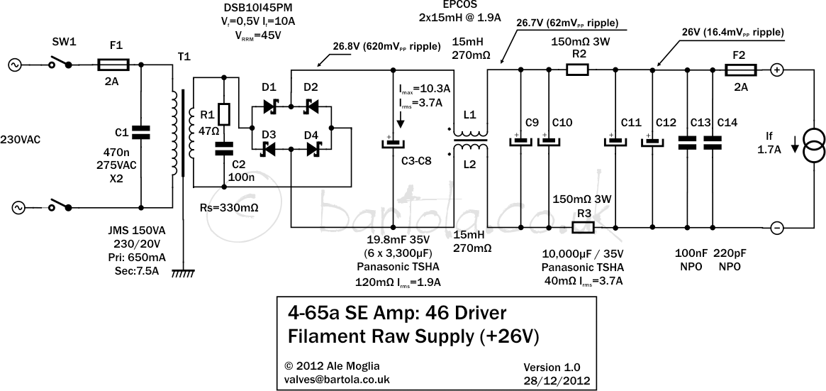 46 triode-strapped