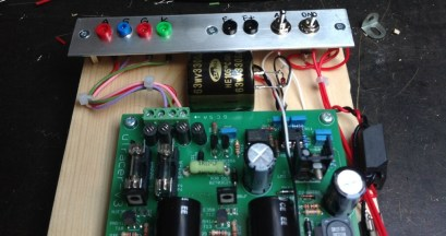 Additional 3,300uF capacitor across C13 to help A2 traces