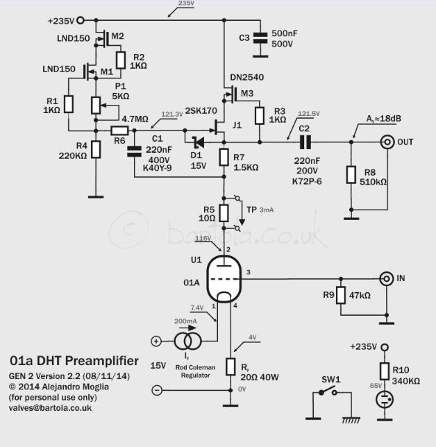 01a Preamp (Gen2) – Bartola® Valves