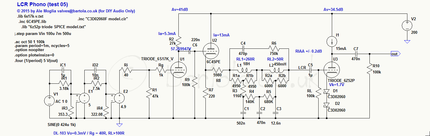 lcr riaa and tubes phono schematic electronic design diagram datatube lcr phono bartola® valves lcr riaa and tubes phono schematic electronic design