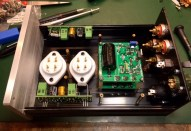 Inside the preamp