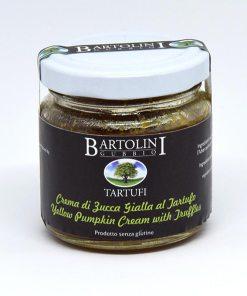 crema di zucca gialla e tartufo