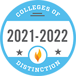 Colleges of Distinction award badge