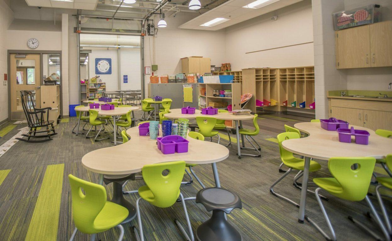 Central Park Elementary Midland_INT_Classroom