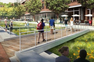 University of Virginia Brandon Avenue Rendering