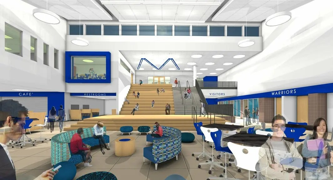 Warren Atrium Rendering