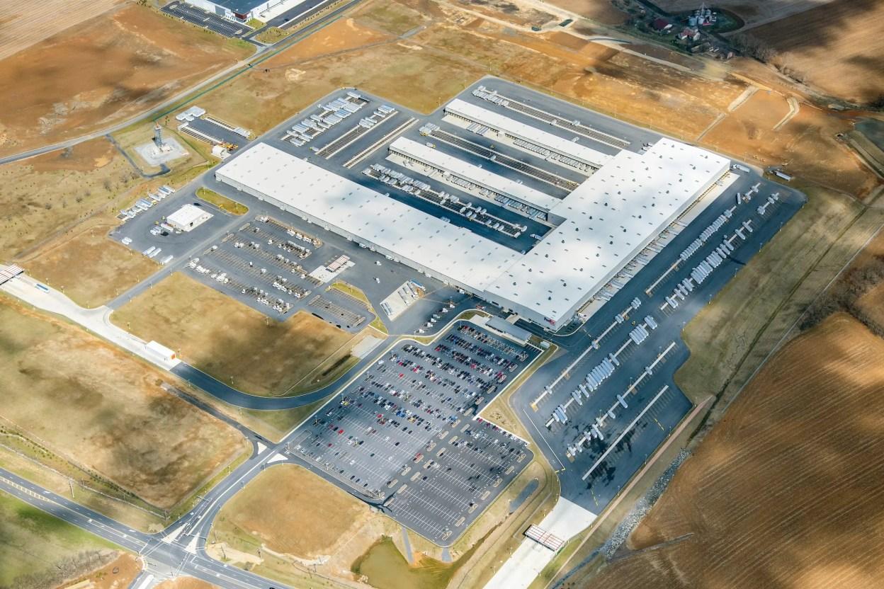 FedEx Ground Allentown Aerial