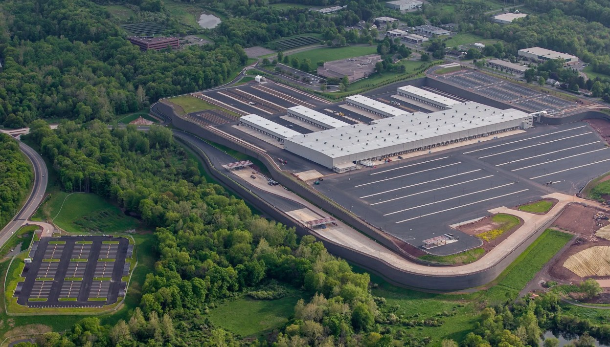 FedEx Middletown Aerial