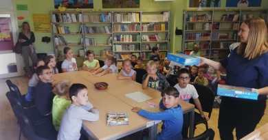 Prvašići posjetili knjižnicu Matične škole