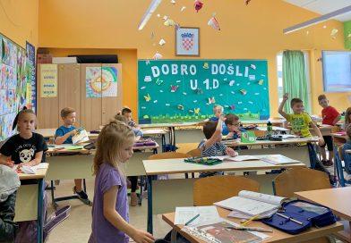 U prvom razredu ništa nije teško