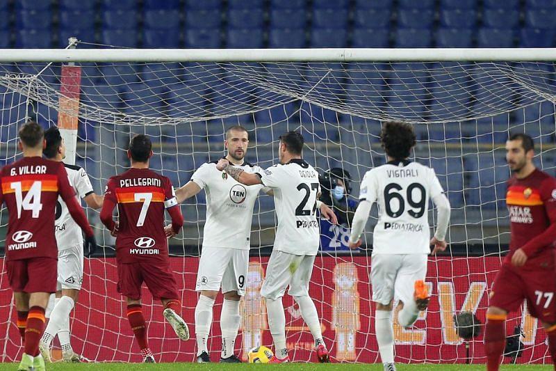 Spezia vs AS Roma
