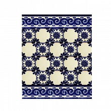 mirta set of mexican tiles with a border