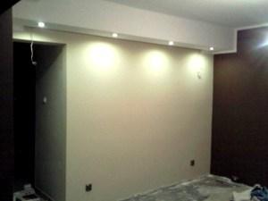 salon ścianka obrazowa