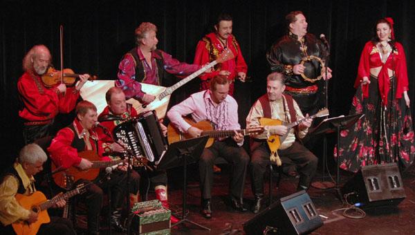 Barynya musicians