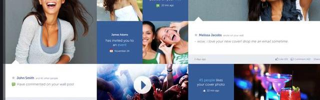Facebook Prototype – Conceptional Approach by Fred Nerby