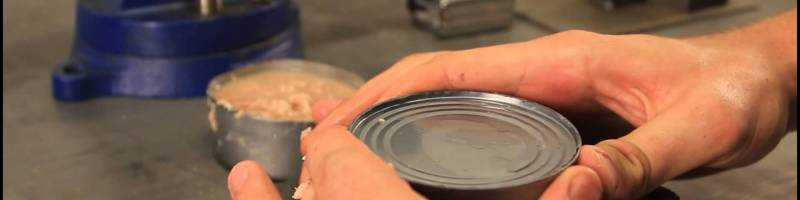 How to Open a Can without Can Opener – Zombie Survival Tips #20 by CrazyRussianHacker