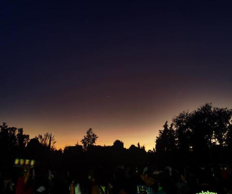 Can you see the moon from over there? #coordenada2017 #HDR