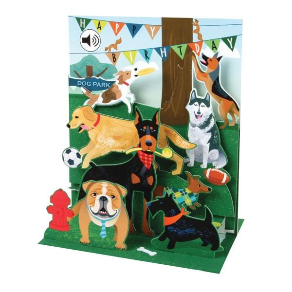 Singing Dogs Happy Birthday Card 53 Reviews 4 81132 Stars Bas Bleu Uq3522