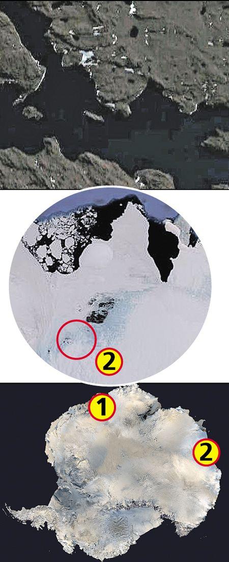 загадки антарктиды, база 211, нацисты в антарктиде