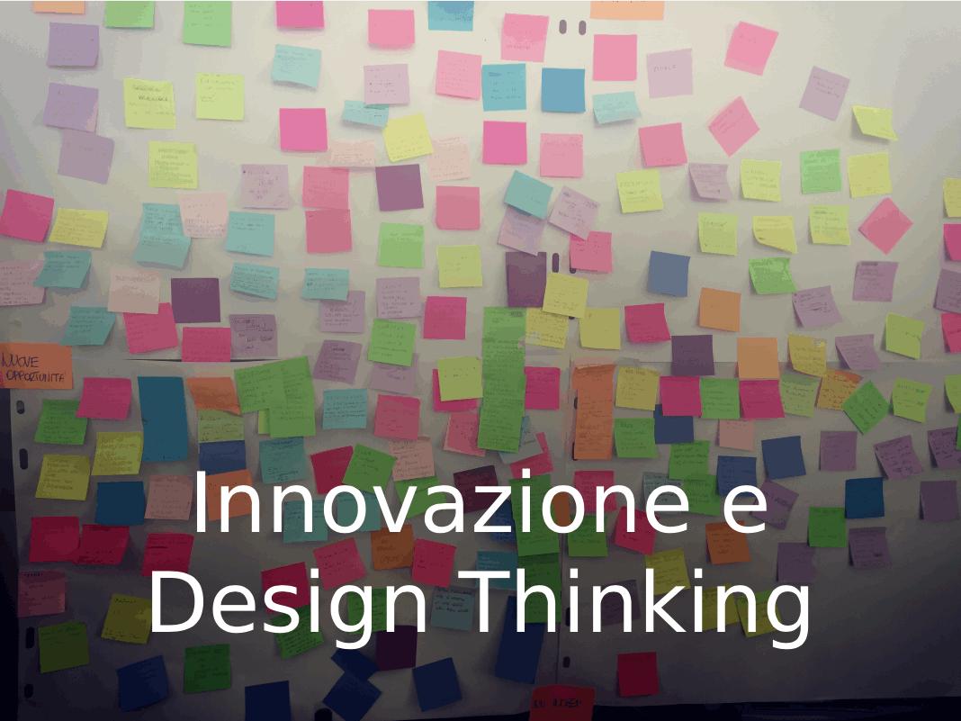 Innovazione e Design Thinking