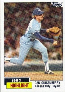 1984 Topps Baseball Card Checklist
