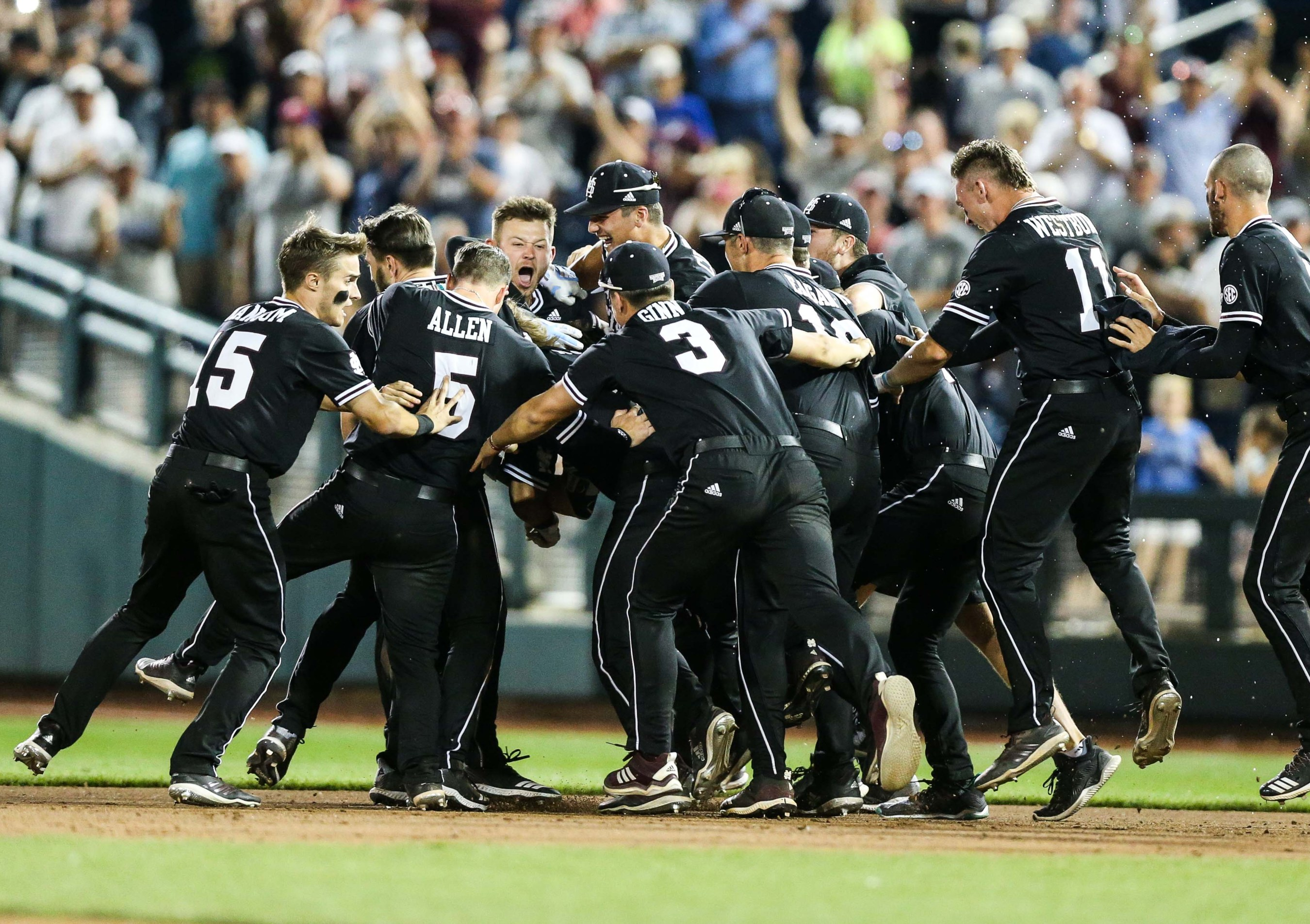 Mississippi State Grinds Out Latest Comeback Win In Omaha