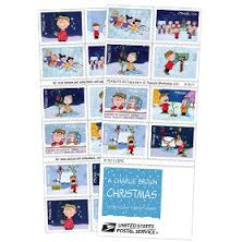 charlie brown stamps