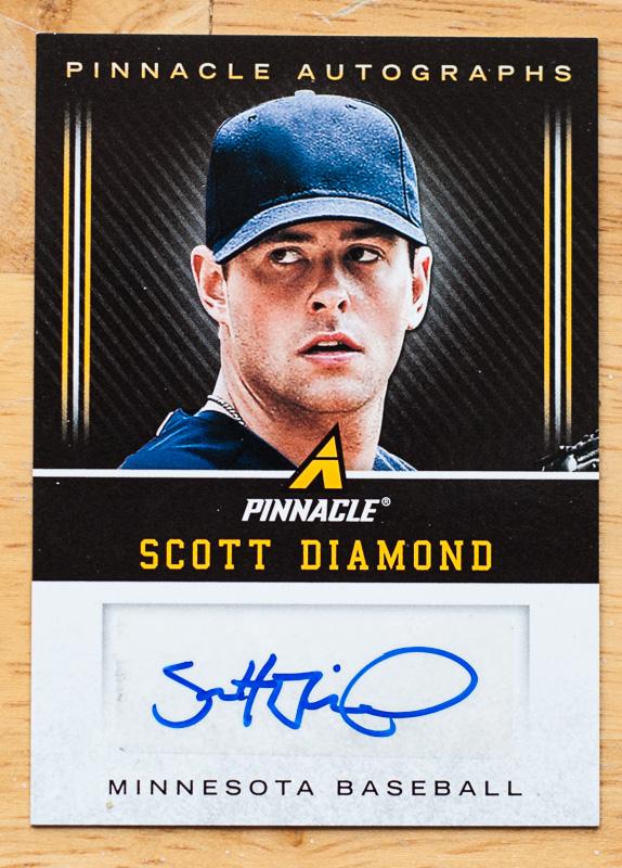 Scott Diamond Autograph Card