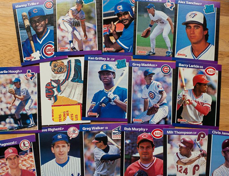 1989 Donruss Baseball Card