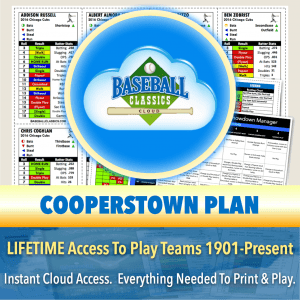 BCC Cooperstown Plan