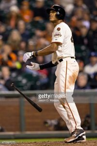 Source: Jason O. Watson/ Getty Images North America Justin  Maxwell did it with his glove and his bat, including a two-run home run that gave the Giants a 6-1 lead entering the ninth inning.