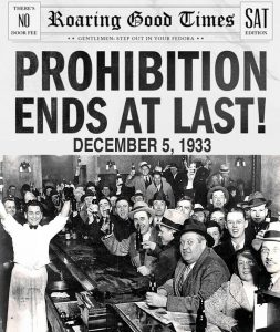 Prohibition was ultimately a failure for the United States.