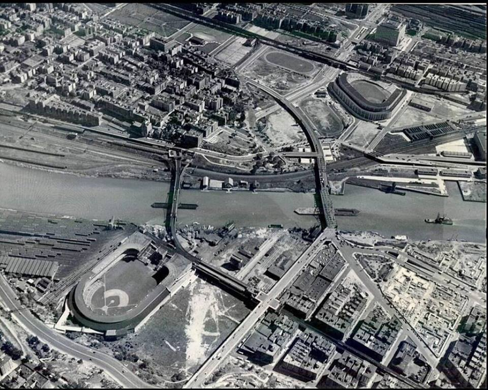 Madison Square Garden: Polo Grounds And Yankee Stadium, New York City, Ca 1943