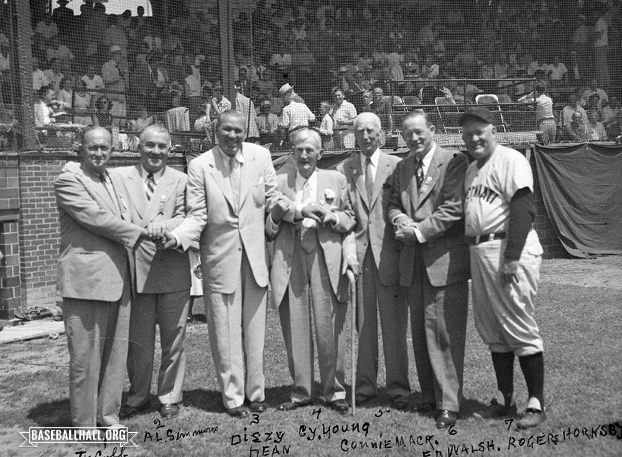 The Great Hall of Fame Induction Class of 1953!