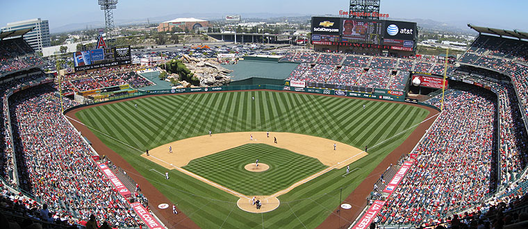 Angel Stadium in Anaheim