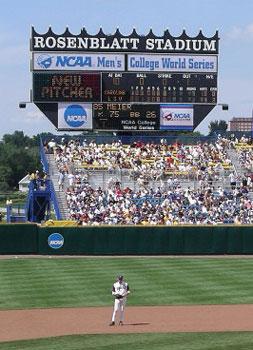 Rosenblatt Stadium main scoreboard